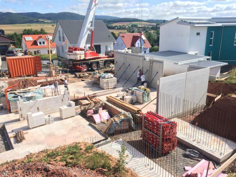 Neubau eines Wohnhauses mit Lichthöfen – Alsenbrück-Langmeil